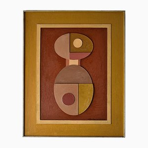 Mid-Century Relief by Willem Brunet de Rochebrune