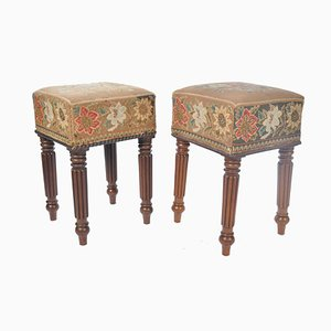 19th Century Stools, Set of 2