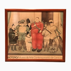 Militärjunta Poster von Fernando Botero, 1970er
