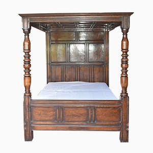 Antique English Oak Daybed