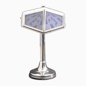 Lámpara de mesa francesa grande de Pirouette, años 20