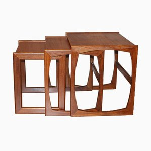 Vintage Teak Nesting Tables from G-Plan, 1960s