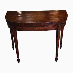 19th Century Mahogany Folding Card Table