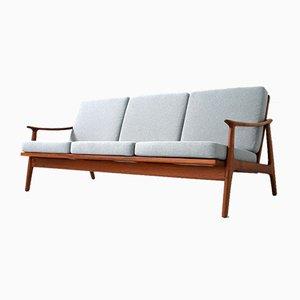Mid-Century Danish Teak Sofa by Fredrik A. Kayser, 1960s