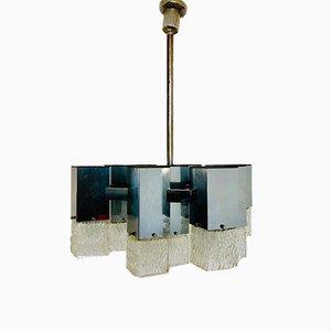 Lámpara de techo de Gaetano Sciolari, años 70