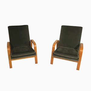 Lounge Chairs by Pierre Guariche for Steiner, 1950s, Set of 2