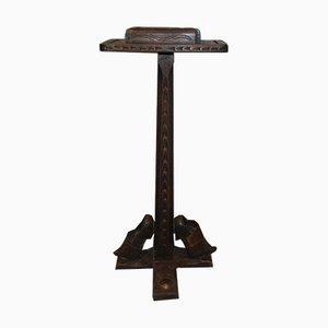 Zapatero antiguo de madera