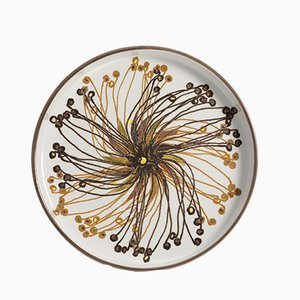 Decorative Plate by Ellen Malmer for Royal Copenhagen, 1960s