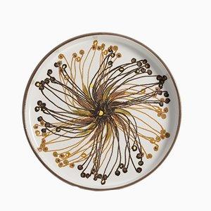 Decorative Plate by Ellen Malmer for Royal Copenhagen, 1960s