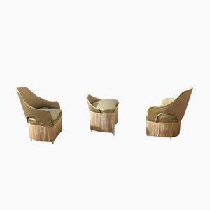 Italienische Mid-Century Sessel von Dassi, 1960er, 3er Set