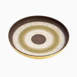Vintage Ceramic Plate, 1970s