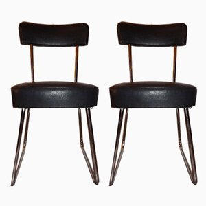 Vintage Industrial Desk Chairs from Roneo, 1950s, Set of 2