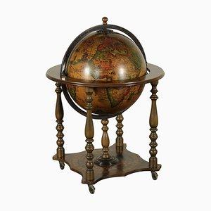 Globe Vintage en Hêtre, Italie