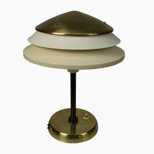Tischlampe aus Messing & Metall von Zukov, 1960er
