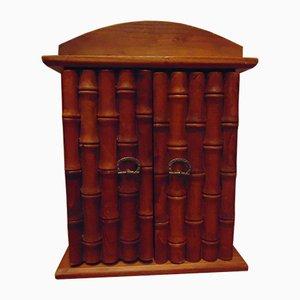 Geschirrschrank aus Holz, 1970er