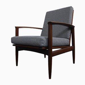 Mid-Century Danish Teak Lounge Chair, 1960s