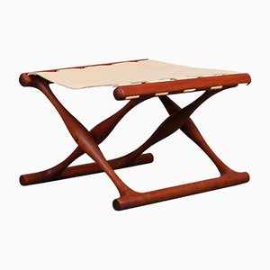Mid-Century Danish Teak Stool by Poul Hundevad for Hundevad & Co