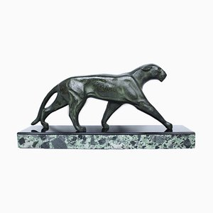 Art Deco Bronze Sculpture by Michel Decoux, 1920s