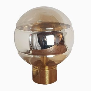 Golden Table Lamp from Peill & Putzler, 1970s