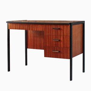 Schreibtisch aus Teak & Stahl, 1960er