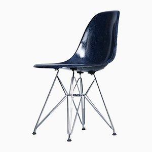 DSR Fiberglass Side Chair by Charles & Ray Eames for Herman Miller, 1950s