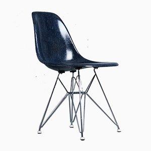 DSR Beistellstuhl aus Glasfaser von Charles & Ray Eames für Herman Miller, 1950er