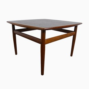 Small Teak Coffee Table by Grete Jalk for Glostrup, 1960s