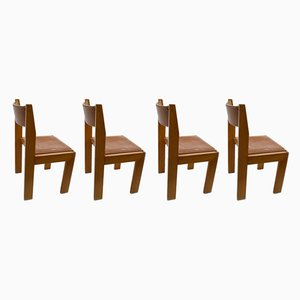 Side Chairs from Roche Bobois, 1970s, Set of 4