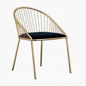 Goldener Agora Stuhl von Pepe Albargues