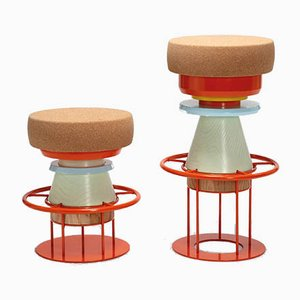 Colorful Tembo Stool by Note Design Studio