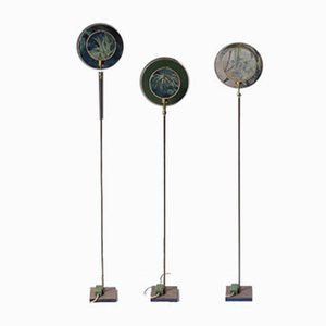 Floor Lamps by Sander Bottinga, Set of 3