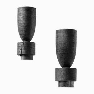 Jarrón Steel Pot de Arno Declercq