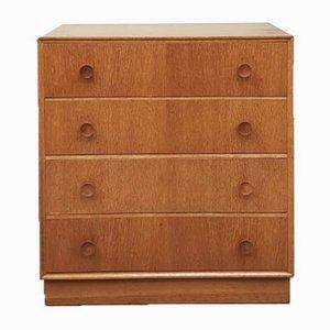 Mid-Century Golden Oak Dresser from Meredew, 1970s