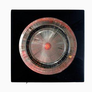 Applique Magic Eye in fibra ottica multicolore di Weschka Lighting, anni '70