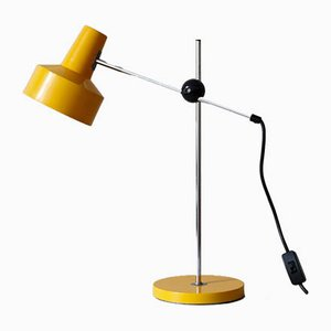 Yellow Adjustable Table Lamp, 1960s