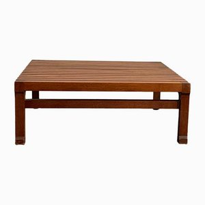Wooden Teak Coffee Table by Ico Luisa Parisi, 1960s