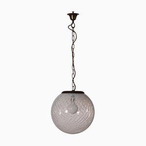 Italienische Vintage Deckenlampe, 1970er