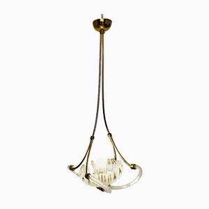 Lampada da soffitto vintage di Barovier & Toso, anni '40