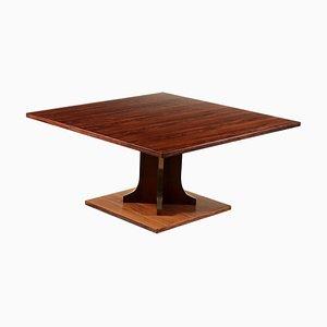 Tavolino da caffè in palissandro di La Permanente Mobili Cantù, anni '60