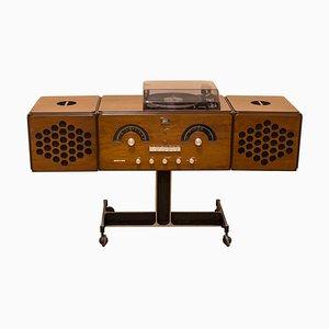 Modell RR 126 Radio von Achille & Pier Giacomo Castiglioni für Brionvega, 1960er