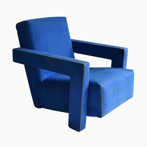 Lounge Chair by Gerrit Rietveld for Cassina, 1980s