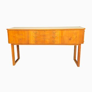 Art Deco Walnut Sideboard from Stuttgarter Möbel, 1920s