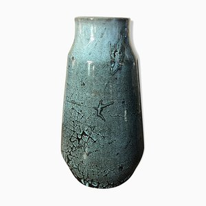 Blue Vase from Accolay, 1970s