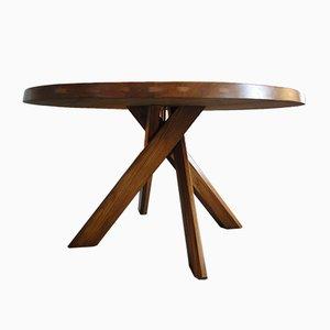 Tavolo da pranzo T21D di Pierre Chapo, anni '60