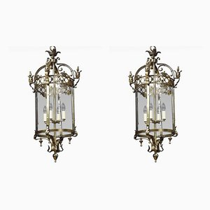 Antique Ceiling Lamps, Set of 2