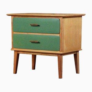 Vintage Nachttisch aus Holz, 1960er