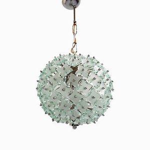 Deckenlampe aus Glas von Fontana Arte für Fontana Arte, 1960er