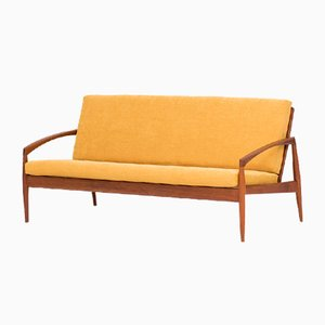 3-Sitzer Sofa von Kai Kristiansen für Magnus Olesen, 1950er