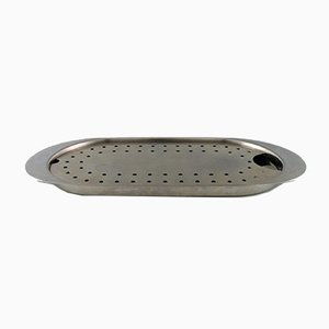 Stainless Steel Fish Dish by Arne Jacobsen for Stelton, 1970s