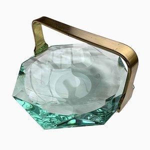 Glasschale von Max Ingrand für Fontana Arte, 1960er
